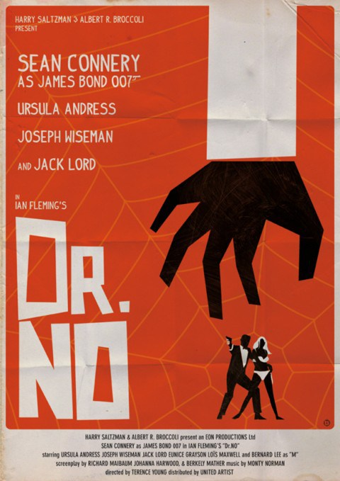 Saul-Bass-Style-Dr-No-Poster